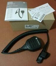 Oem Motorola Pmmn4051a Noise Cancelling Xts5000 2500 Remote Speaker Mic W 35 Mm