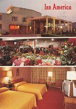 "*Pennsylvania Postcard-""Inn America"" -Motor Lodge & Supper Club- (PM 1988)"