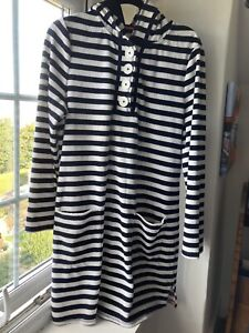 Boden   Swim Dress   Beach Cover-up   Towelling Dress Robe   Hooded