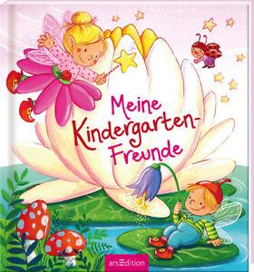 Freundebuch Kindergarten Meine Kindergartenfreunde Feen Ab 3 Jahren + BONUS