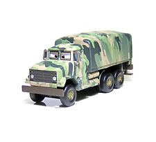 Disney Pixar Cars Diecast Andy Gearsdale Military Truck Toy Car