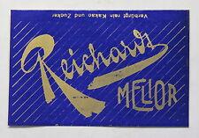 Schokoladenverpackung Firma Reichardt Melior Wandsbek-Hamburg um 1910-1930 xz