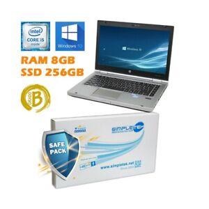 "Notebook HP Elitebook 8460P I5 2540M 14 "" 8GB 256GB SSD Windows 10 Pro"