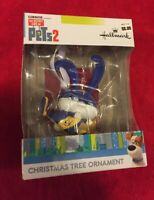 HALLMARK CHRISTMAS ORNAMENT ILLUMINATION THE SECRET LIFE OF PETS 2 Snowball
