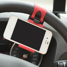Car Steering Wheel Mount Holder Rubber Band For iPhone iPod MP4 GPS keeper