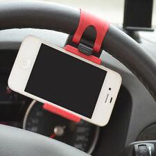 Universal Volante Del Coche Clip Soporte Sostenedor Para Teléfono Móvil GPS