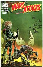 MARS ATTACKS #4, NM, Aliens, Martians, Sci-fi, Death Ray, 2012, more in store