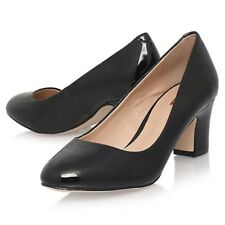 Carvela Women's April Patent Court Heel Shoes Black Size UK 4 EU 37 NH03 23