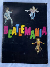 Beatlemania Beatles Show Program Rare