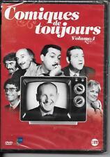 DVD ZONE 2--SKETCHES--COMIQUES DE TOUJOURS VOL.1--YANNE/BOURVIL/POIRET--NEUF