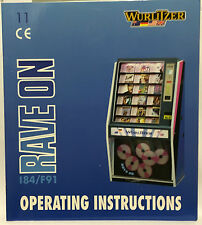 JUKEBOX MANUAL - WURLITZER RAVE ON 184/F91 OPERATING INSTRUCTIONS