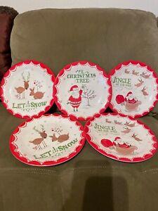 Pottery Barn Kids Christmas Plates (5)