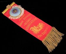 ANTIQUE PROVIDENCE FIRE DEPT 1886 NATIONAL ASSN FIRE ENGINEERS CONVENTION RIBBON
