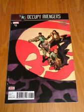 OCCUPY AVENGERS #8 MARVEL COMICS
