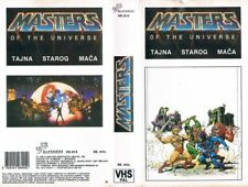 MASTERS OF THE UNIVERSE: THE SECRET OF THE SWORD (1985) YUGOSLAVIAN VHS