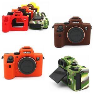 FOR Sony A7R3 A7R4 /A7RIII / A73 A7II Camera Bag Soft Silicone Rubber Body Cover