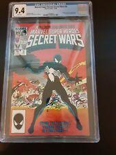 SECRET WARS #8 CGC 9.4 1ST BLACK COSTUME MARVEL 1984