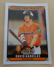 David Kandilas 2018/19 Australian Baseball League card - Canberra Cavalry