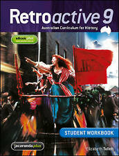 Retroactive 9 Australian Curriculum for History Student Workbook BNew FREE POST