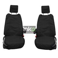 Range Rover L405 INKA Front Set Tailored Waterproof Seat Covers Black MY13-18