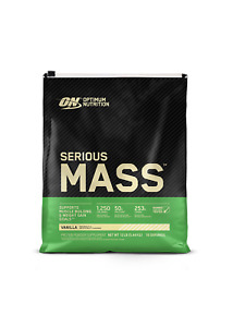 Serious Mass, High Protein Weight Gain Powder, Vanilla, 12 lbs