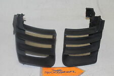 2009 SEA-DOO RXT 255 IS OEM JET SKI LEFT RIGHT SIDE REAR GRILL COVER PLASTIC SET