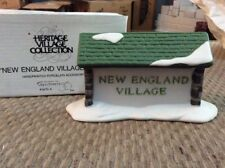 Dept 56~New England Village Sign #65706~Retired~Nib