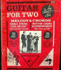 Guitar For Two Melody Chords Instructional Self Teach Gene Leis 1960s T68