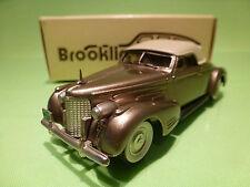 BROOKLIN MODELS BRK 14 CADILLAC V16 CONVERTIBLE COUPE - 1940 - 1:43 - NMIB