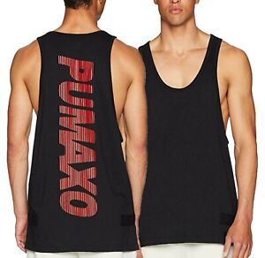 Puma x XO by The Weeknd Men's Black Loose Fit Tank Top