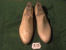 Vintage Pair Shoe Lasts Size 11 W #100 Industrial Factory Cobbler Molds #A-15