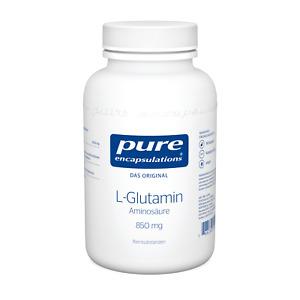 L-Glutamin (850mg) von Pure Encapsulation (42,90€/1Stk)