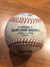 Mark Buehrle Game Used Pitched Ball - 4/11/11 - Pitch In Dirt - White Sox