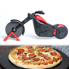 Stainless Steel Pizza Cutter Motorcycle Modle Pizza knife Slicer Kitchen Gadget
