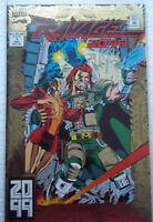 Ravage 2099 no. 1 comic book marvel comics gold cover
