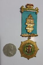 Roll of Honour Badge & Medal regalia RAOB Royal Antediluvian Order Buffaloes