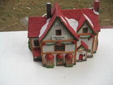 VTG 1993 LEMAX Christmas Village Porcelain Lighted, Christmas Shoppe