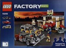 Lego Racers # 10200 Custom Car Garage (2 Hefte) - Bauanleitung (keine Steine!)