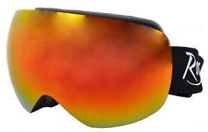 SNOW SKI GOGGLES Also for Snowboarding. Prescription Rx Options. Anti Fog. Adult