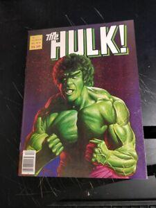 Hulk Magazine 24 NM to NM+ **JUSKO Lou Ferrigno Cover** SUPER HIGH GRADE