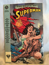 Collectible 1993 DC Comics Superman: The Death of Superman Comic Book