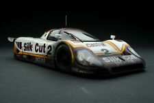 RACE WEATHERED | Exoto Silk Cut Jaguar XJR-9 LM | Le Mans | 1:18 | #MTB00104FLP