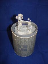 SWAROVSKI  Pudel stehend  TOP ZUSTAND  OVP Zertifikat Kristall Figur