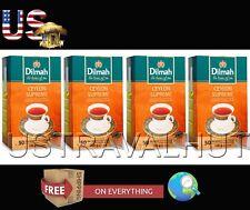 Ceylon Pure Tea Ceylon Supreme Dilmah Brand 50 x 4 Box Tea Bags 200 Tea Bags