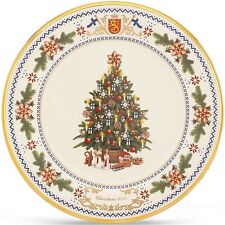 Lenox 2014 Trees Around The World Plate Finland Annual Christmas Made in USA