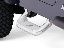 Marche pieds aluminium poli Jeep Wrangler YJ