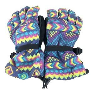 Burton Youth Gore-Tex Gloves - Kids - Size Medium - Multi color - Unisex youth