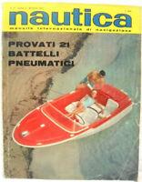 NAUTICA mensile internazionale di navigazione Anno II n° 15 Maggio 1963 Buono