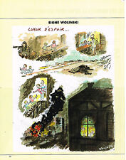 Collectibles Other Breweriana Publicité Advertising 1992 Dessin Signe Wolinski