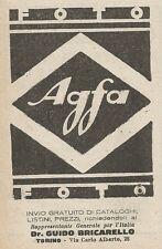 Z2071 Prodotti Fotografici AGFA - Pubblicità d'epoca - Advertising